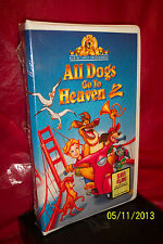 All Dogs Go to Heaven 2 (VHS, 1996, Clam Shell; Family Entertainment) BRAND NEW