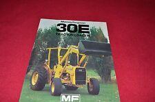 Massey Ferguson 30E Tractor Loader Dealer's Brochure Lcoh