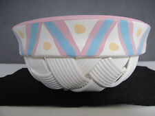 Handmade Clay Bowl, Signed, Beautiful, One of a kind no other like it!