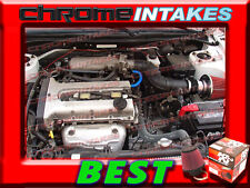 K&N FT+BLACK RED AIR INTAKE FOR 96-09 KIA WITH 1.8/2.0/2.4/2.5/2.7/3.5L I4/V6