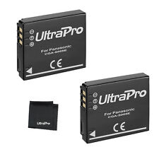 2x CGA-S005e CGAS005e Battery +BONUS Panasonic Lumix DMC-FX01 FX07 FX3 FX8 FX9