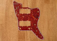 PICKGUARD RED TORTOISE SHELL 4 PLY FOR FENDER JAZZMASTER