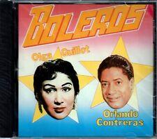 Boleros  Olga Guillot-Orlando Contreras    BRAND  NEW SEALED CD