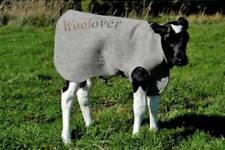 Woolover Calf Warming Blanket Size Small 70-99 lb Calf Cover Wool Washable