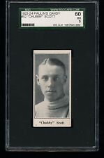 1923 V128-1 Paulin's Candy CHUBBY SCOTT #52 SGC 60 5 - Not Redeemed