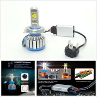 1 Pair Car H4 70W Canbus LED Headlight Bulb Plug & Play Waterproof 6000K White