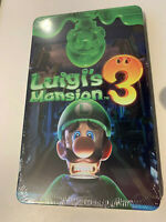 Luigi's Mansion 3 Glow in the dark STEELBOOK ONLY. Ready to ship. NO GAME