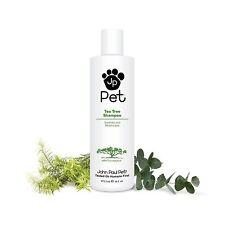 John Paul Pet - Tea Tree Shampoo - 473,2ml - wirkt Zecken & Flohbefall entgegen