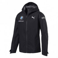 Official 2018 Puma BMW M Sport Motorsport Team Mens Rain Jacket Coat Waterproof