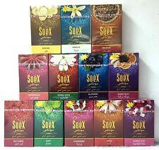 600 gr SoeX Natural Herbal Molasses Shisha Flavor for Hookah 12 x 50 g Packs Box
