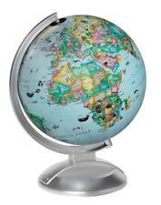 """Globe4Kids Child Illuminated Desk Globe Physical Landmarks Animals Geography 10"""""""