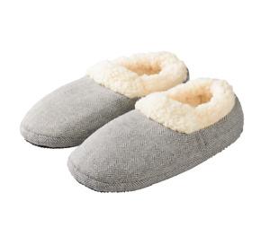 Warmies® Slippies Greenlife Wärmeprodukt Comfort grau Korn-Lavendelfüllung 08014