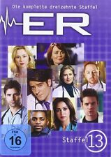 "3 DVD Box "" ER - Emergency Room Staffel 13 - NEU OVP"