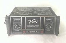 Vintage Peavey CS 800 Power Amplifier Tested Made In USA