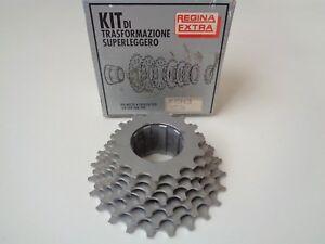 *NOS Vintage REGINA EXTRA SUPERLEGGERO 15-24 Alloy 7 Speed freehub cassette*