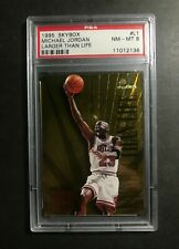 1995-96 Skybox Premium Larger Than Life #L1 Michael Jordan PSA 8