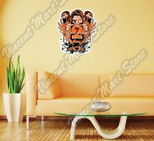 "Ape Nuclear Mushroom War Monkey Gift Wall Sticker Room Interior Decor 20""X25"""