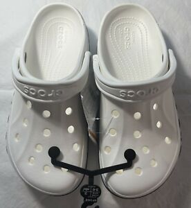 New Women's CROCS White Shoes Clogs Size 9 FREE SHIPPING