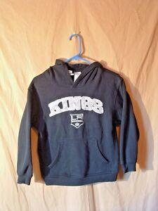 LOS ANGELES KINGS, HOODIE, SEWN LOGO, CHILD'S M (10-12), NHL