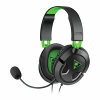Turtle Beach Ear Force Recon 50X Black Headsets Switch PS4 PS5 Xbox One PC