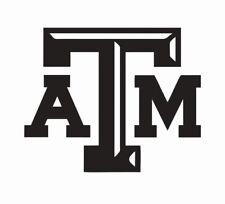 Texas A&M Aggies Football Vinyl Die Cut Car Decal Sticker - FREE SHIPPING