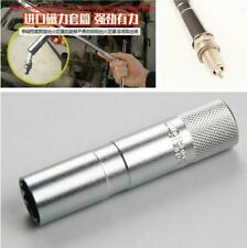 16MM High Strength Magnetic Spark Plugs Socket Wrench Removal Tool Chrome Steel