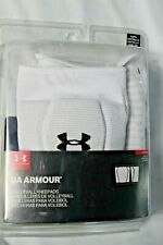 New Under Armour Ua Volleyball Knee Pads Low Profile Size Youth White 1294850
