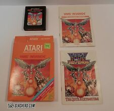 YARS' REVENGE Atari 1981 Vintage Video COMPLETE IN BOX! Space Alien WALKING DEAD