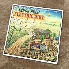Levon Helm Electric Dirt Cover Art Print 2009 - signed M.DuBois