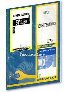 Werkstatthandbuch für Peugeot SV Hercules SR 50 - 80 od. 125