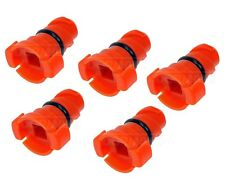 For Ford Edge F-150 Mustang Lincoln MKX Set of 5 Plastic Engine Oil Drain Plug