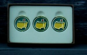 The Masters Green Ball Markers 3 Pack - Great Gift