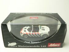 OPEL SPEEDSTER POLITIE SCHUCO 1:43 FROM COLLECTION