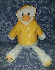 "Scentsy Buddy WELLINGTON THE DUCK with Rain Coat No Scent Pak 15"" Plush Animal"