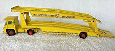 Vintage Lesney Guy Warrior Car Transporter King Size K-8 Yellow Matchbox Truck
