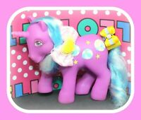 ❤️My Little Pony MLP G1 Vtg Sunshine Ponies BEACH BALL Purple Blue Unicorn❤️