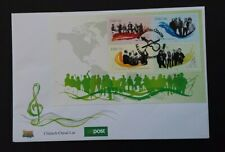 Ireland 2006 M/S 1817 Irish Music (1st Series) FDC