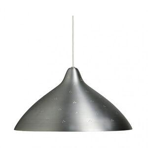 "MIDCENTURY FINNISH MODERN LISA JOHANSSON-PAPE ""LISA 450"" PENDANT LAMP SILVER NEW"