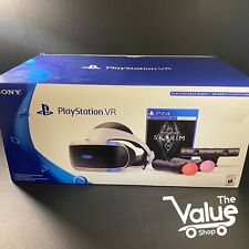 Sony PlayStation VR PS4 Headset Core Bundle Games Skyrim PS PSVR (CUH-ZVR2)