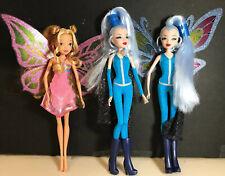 Winx Club JAKKS Icy And Flora Enchantix Good Vs Evil Dolls, Hard To Find!