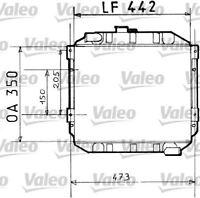 VALEO 730110 Radiator  for FORD CORTINA Estate CAPRI GRANADA CORTINA