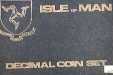 **1976**Isle Of Man, Decimal Coinage Proof Set