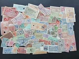 INDIAN STATES - FINE & SUBSTANTIAL COLLECTION OF EARLY REVENUES IN OLD ENVELOPE