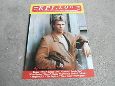 #19 EPI-LOG television magazine ( UNREAD - NO LABEL) MACGYVER