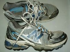 New Balance Women's Sz 7 Silver Blue 1226 Running Shoes WR1226WB Athletic