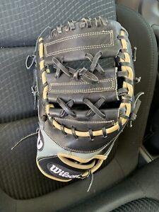 "Wilson A2000 12.5"" 1B Glove Left-Handed Thrower Model 1617 Superskin"