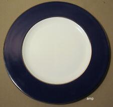 "Lenox Federal Cobalt Platinum Accent Luncheon Plate 8 1/4"" NEW"