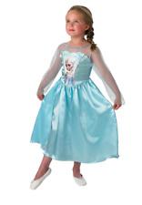 bambini ufficiale Disney regina Elsa Blu Frozen Costume 7-8 anni grande