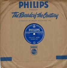 "Johnnie Ray Papa Loves Mambo Only Girl I'll Love 78 10"" Shellac Philips PB346"