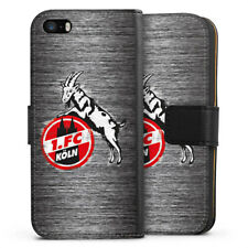 Apple iPhone 5s Tasche Hülle Flip Case - Metal Scratch 1.FC